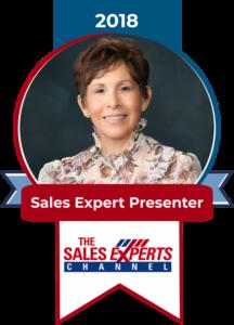 Badge Sales expert Presenter 2018