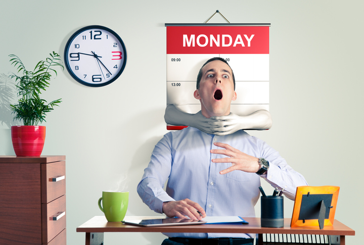 Do you suffer from Monday Morning Blues?